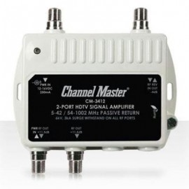 Channel Master HDtv Distribution Amp 2 Port
