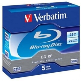 Verbatim Bd Re Sl 25gb 2x 5pk