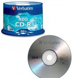 Verbatim CD R 52x 80mn 50pk...
